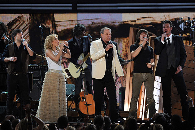 The Band Perry, Blake Shelton, Glen Campbell