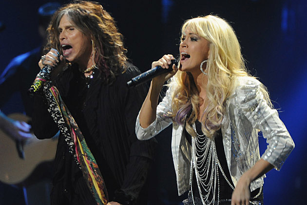 Steven Tyler, Carrie Underwood