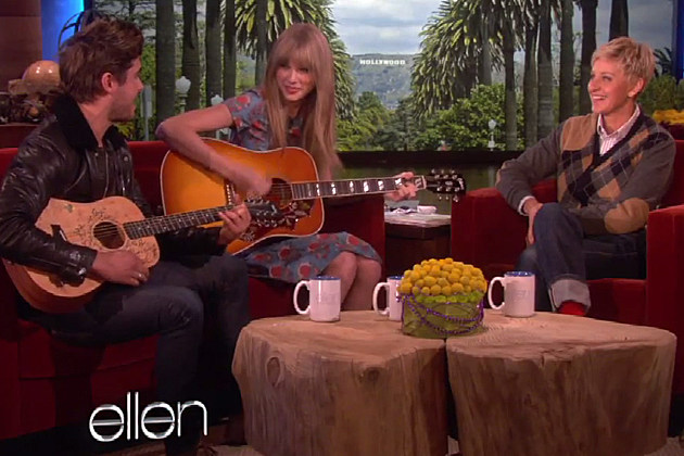 Zac Efron Taylor Swift 'Ellen'
