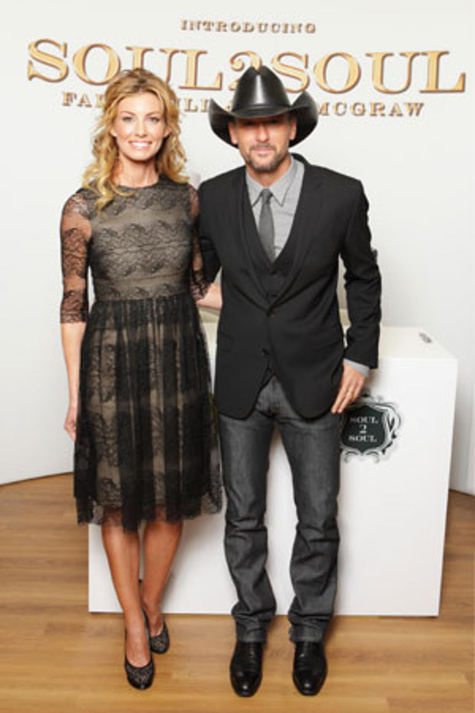 Tim Mcgraw And Faith Hill Debut Soul2soul Fragrance Set