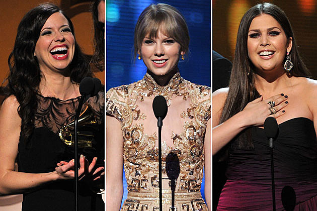 The Civil Wars, Taylor Swift, Lady Antebellum 2012 Grammys