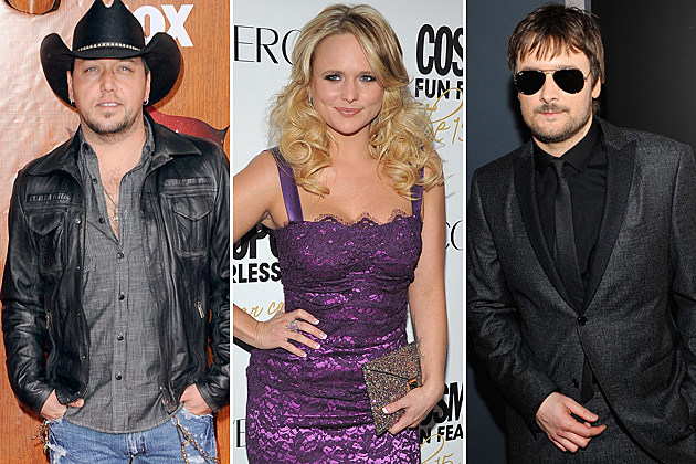 Jason Aldean, Miranda Lambert, Eric Church
