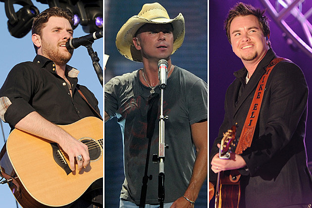 Chris Young, Kenny Chesney, Mike Eli