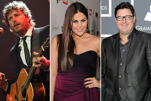 Dierks Bentley, Hillary Scott, Vince Gill