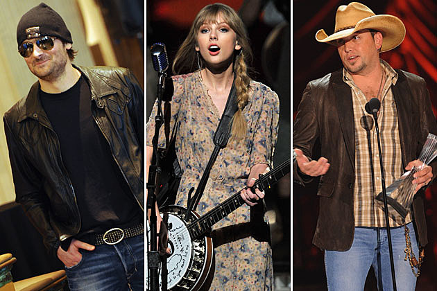 Eric Church, Taylor Swift, Jason Aldean