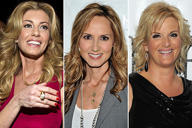 Faith Hill, Chely Wright, Trisha Yearwood