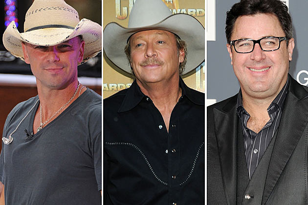 Kenny Chesney, Alan Jackson, Vince Gill