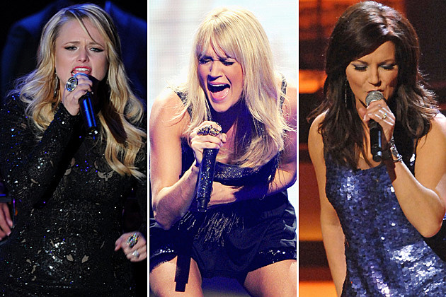 Miranda Lambert, Carrie Underwood, Martina McBride