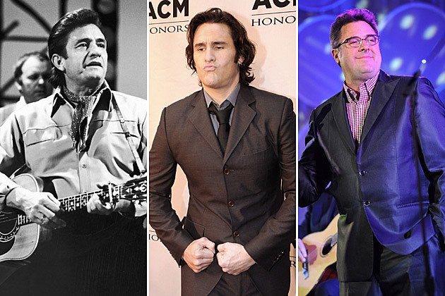 Johnny Cash, Joe Nichols, Vince Gill