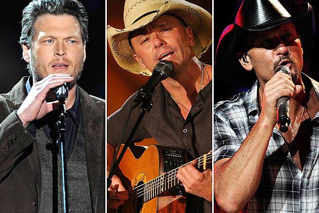 Blake Shelton, Kenny Chesney, Tim McGraw