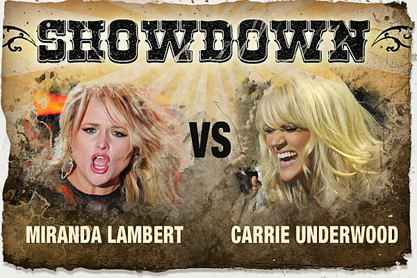 miranda lambert vs carrie underwood the showdown