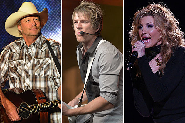 Alan Jackson, Joe Don Rooney, Faith Hill