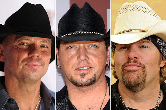 Kenny Chesney, Jason Aldean, Toby Keith