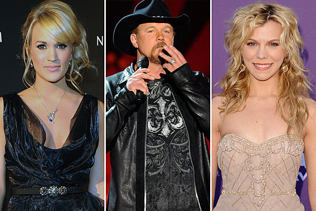Carrie Underwood, Trace Adkins, Kimberly Perry
