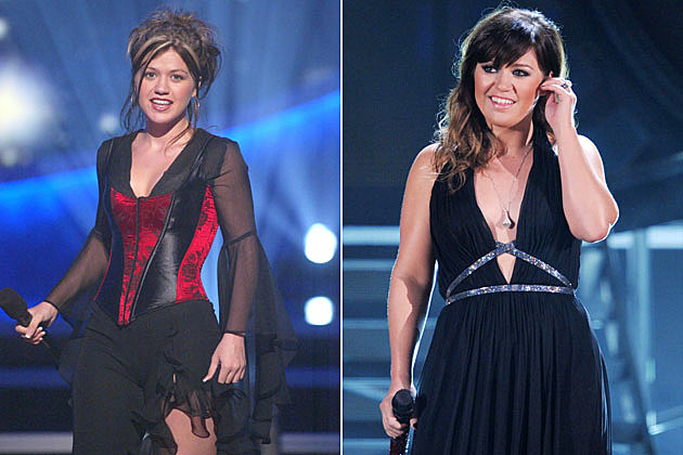 Kelly Clarkson Then And Now Kelly Clarkson - The K...