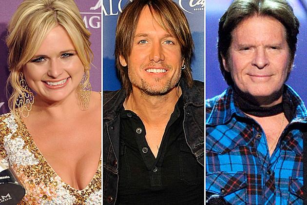 Miranda Lambert, Keith Urban, John Fogerty