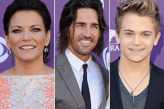 Martina McBride, Jake Owen, Hunter Hayes
