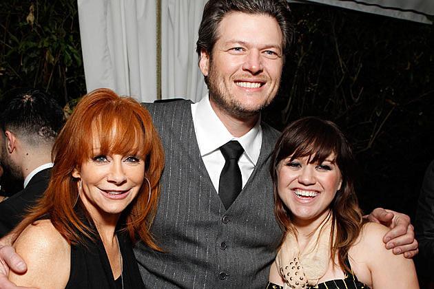 Reba McEntire, Blake Shelton, Kelly Clarkson
