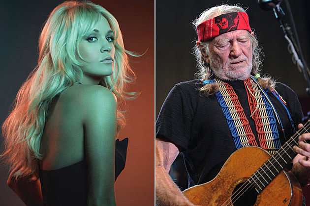 Carrie Underwood, Willie Nelson