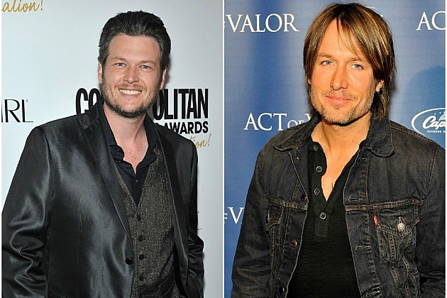 Blake Shelton and Keith Urban
