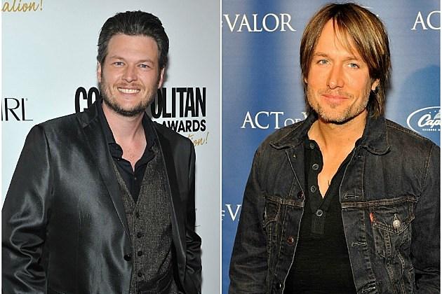 Blake Shelton and Keith Urban