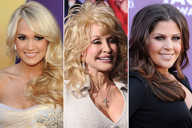 Carrie Underwood, Dolly Parton, Hillary Scott