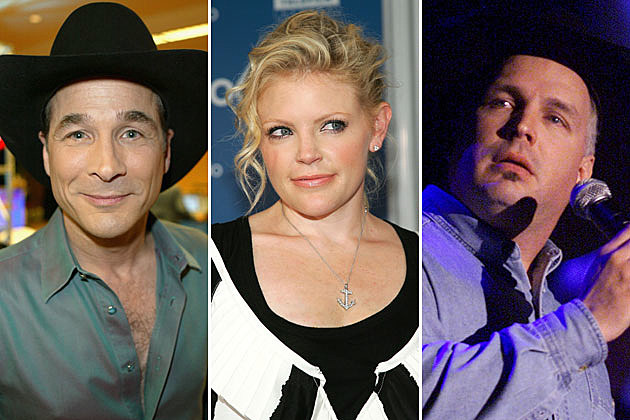 Clint Black, Natalie Maines, Garth Brooks