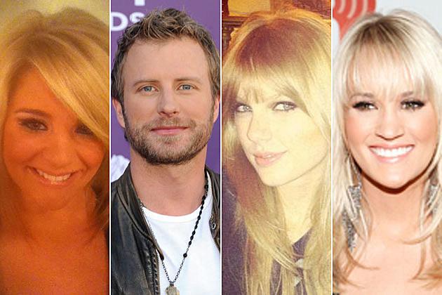 Lauren Alaina, Dierks Bentley, Taylor Swift, Carrie Underwood