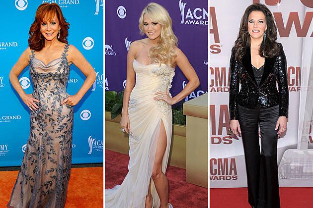 Reba McEntire, Carrie Underwood, Martina McBride