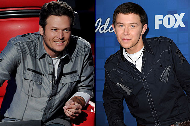 Blake Shelton, Scotty McCreery