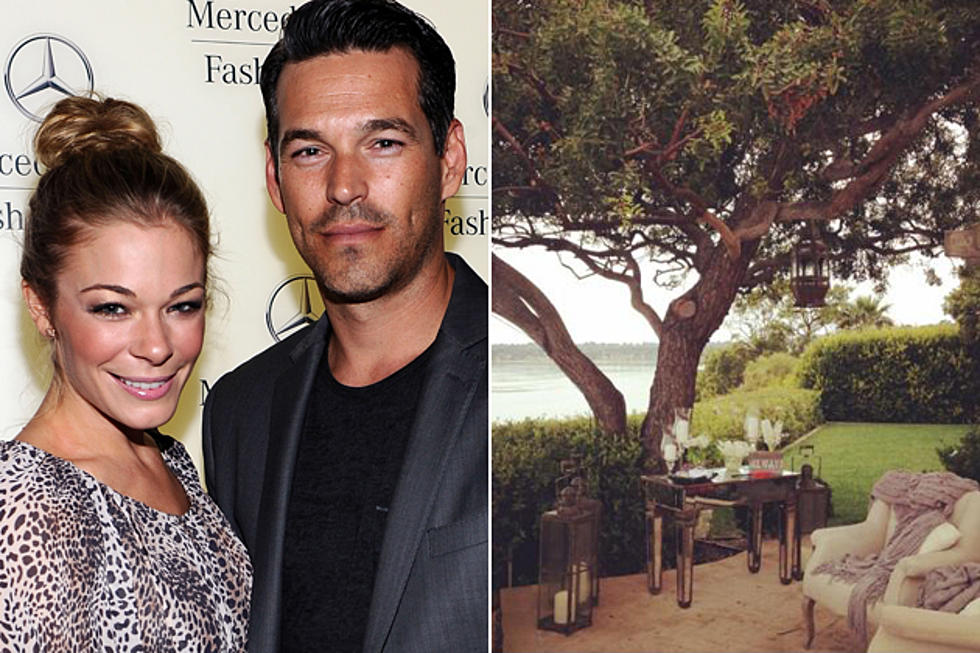 LeAnn Rimes And Eddie Cibrian Celebrate First Wedding Anniversary In Malibu