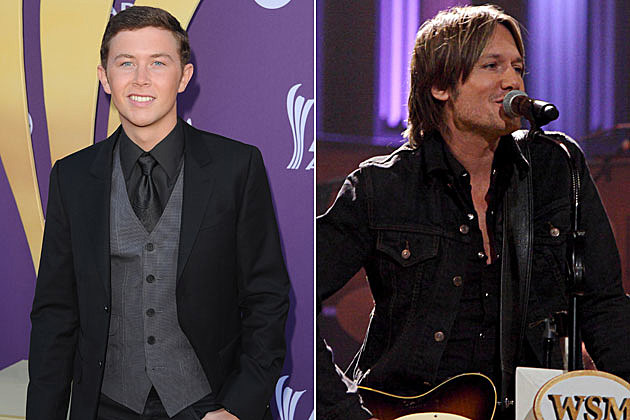 Scotty McCreery, Keith Urban