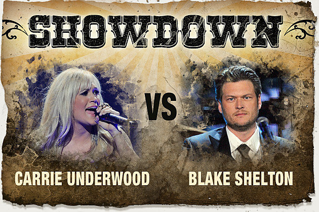 Carrie Underwood, Blake Shelton