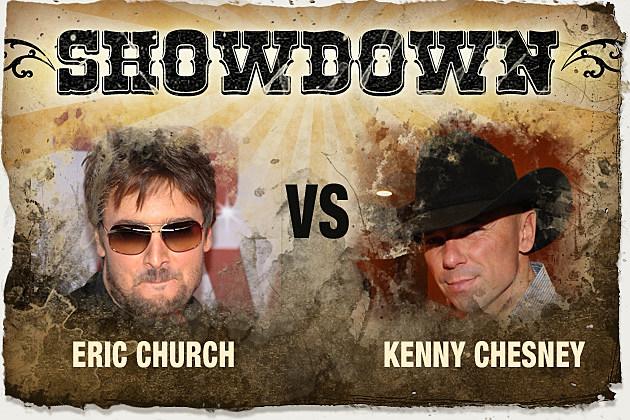 Eric Chruch, Kenny Chesney