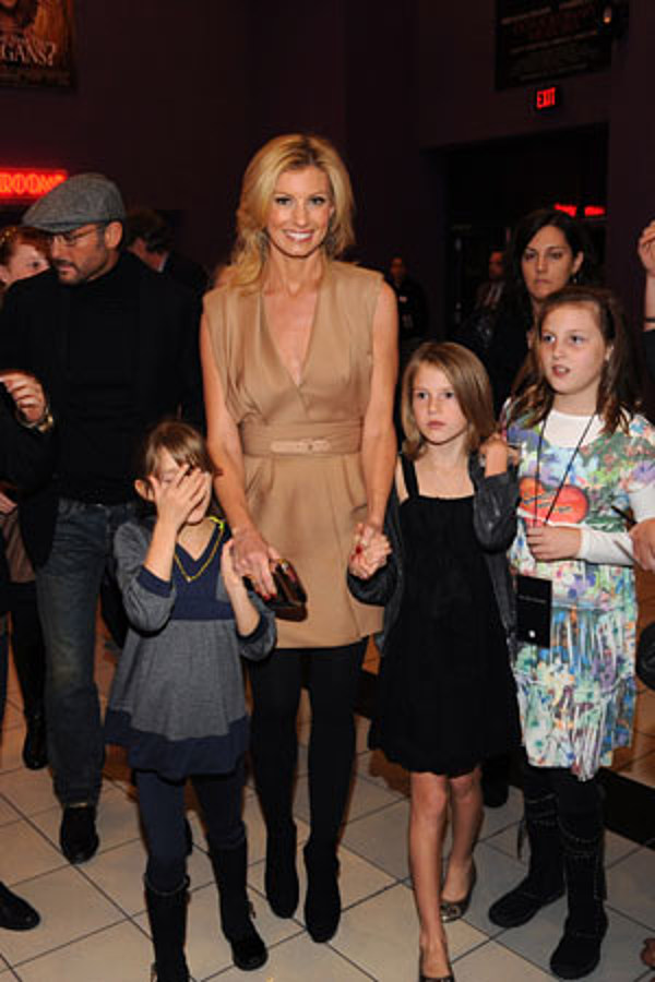 country stars with their kids tim mcgraw and faith hill