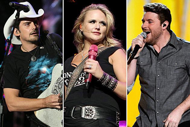Brad Paisley, Miranda Lambert, Chris Young
