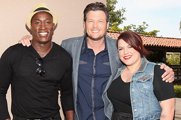 Blake Shelton, Jermaine Paul, Erin Willett