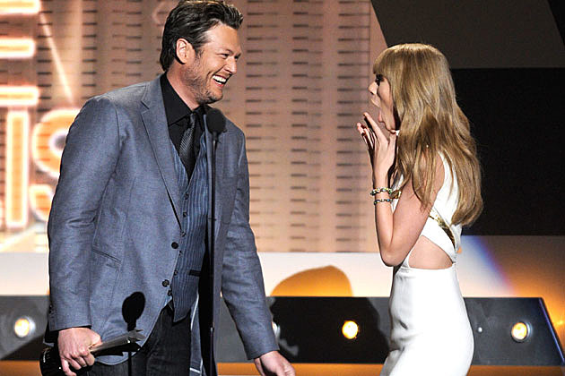 Blake Shelton, Taylor Swift ACM Awards