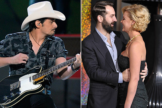 Brad Paisley, Josh Kelley and Katherine Heigl