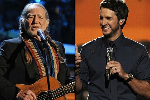 Willie Nelson, Luke Bryan