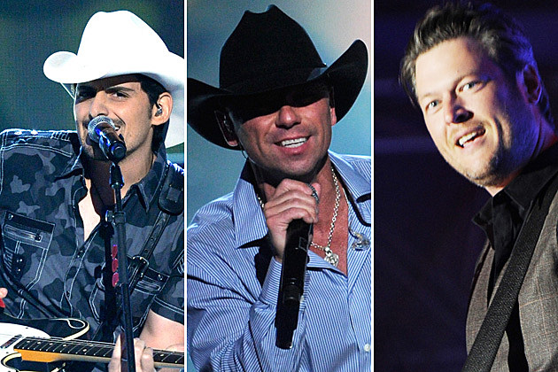 Brad Paisley, Kenny Chesney, Blake Shelton