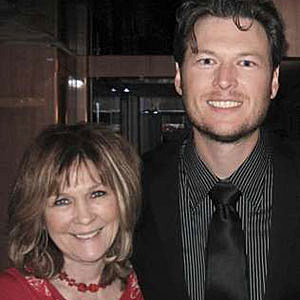 Country Stars And Their Moms Blake Shelton