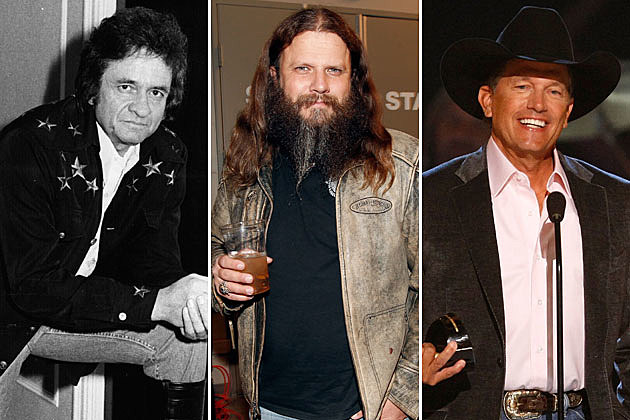 Johnny Cash, Jamey Johnson, George Strait