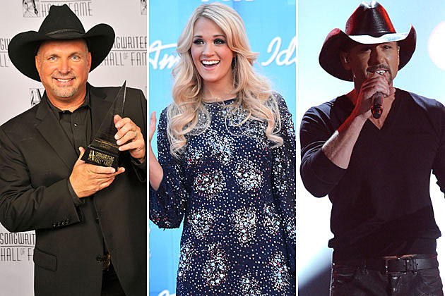 Garth Brooks, Carrie Underwood, Tim McGraw