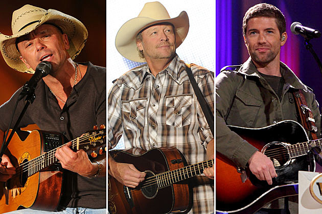 Kenny Chesney, Alan Jackson, Josh Turner