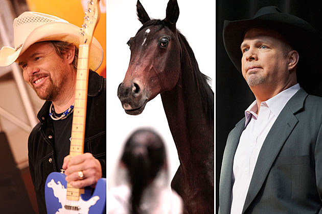 Toby Keith, Horse, Garth Brooks