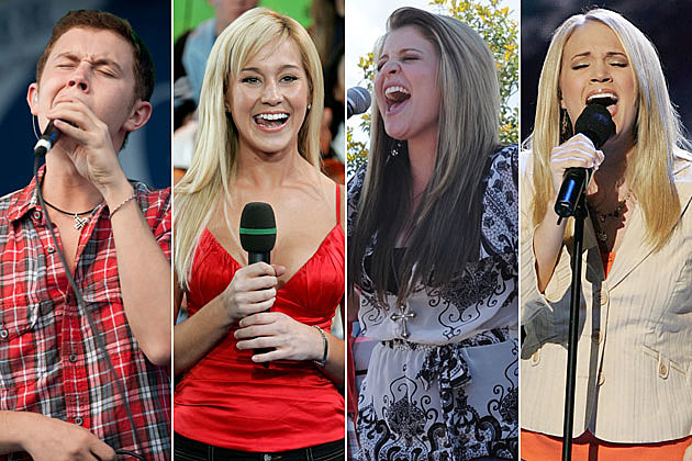Scotty McCreery, Kellie Pickler, Lauren Alaina, Carrie Underwood