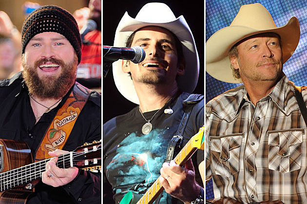 Zac Brown, Brad Paisley, Alan Jackson