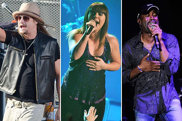 Kid Rock, Kelly Clarkson, Darius Rucker