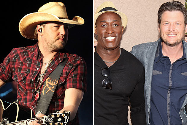 Jason Aldean, Jermaine Paul, Blake Shelton